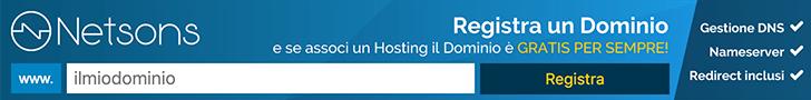 Approfita delle offerte e registra un nuovo dominio con hosting
